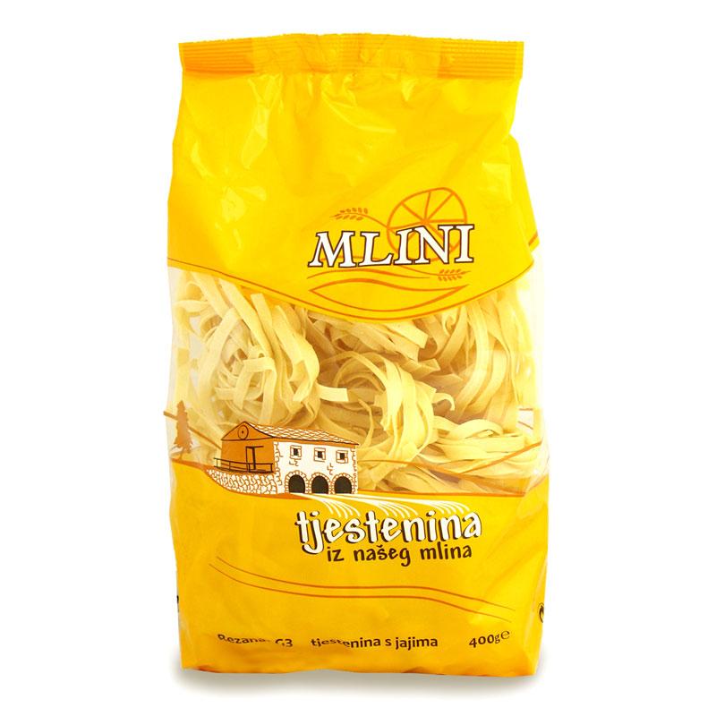 Mlini tjestenina rezanci vrećica 400g G-3