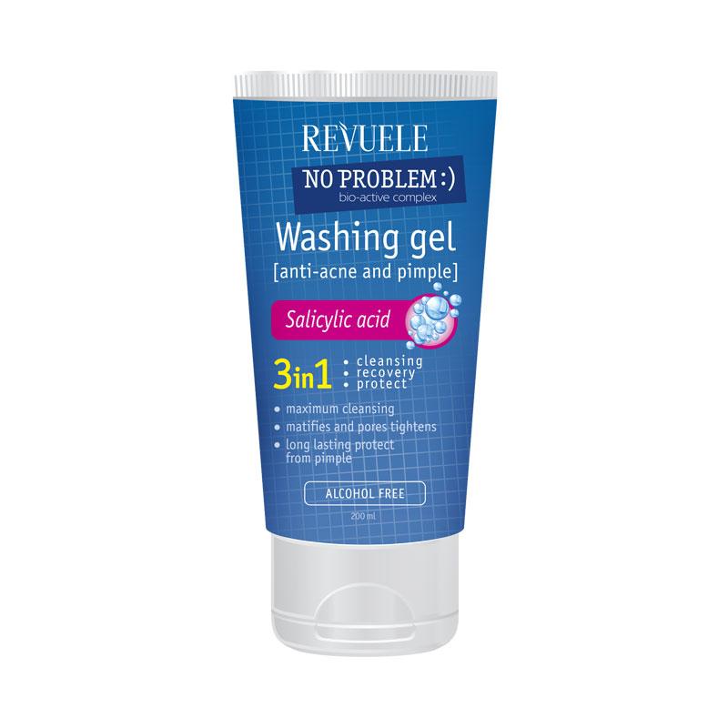 REVUELE gel za čišćenje lica 200ml sa salicilnom kiselinom