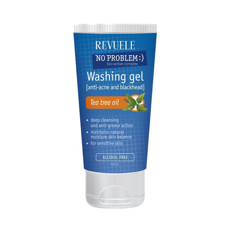 REVUELE gel za čišćenje lica protiv akni 200ml uljem čajevca