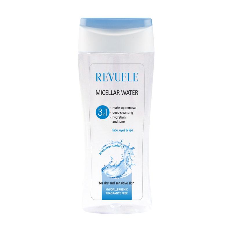 REVUELE Micelarna voda 3u1 za osjetljivu kožu 200ml